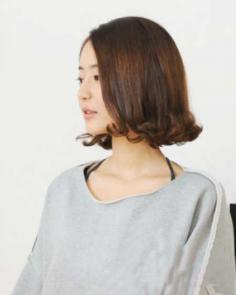 一览韩式最新荷叶头卷发发型图