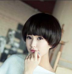 最新波波头短发发型图片