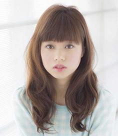 韩式卷发发型 方脸妹子的脸型救星