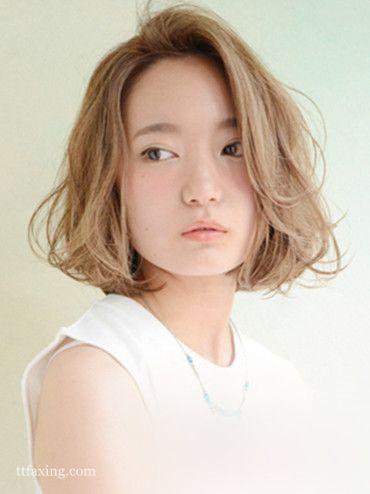 2015最新女生短卷发发型图片欣赏