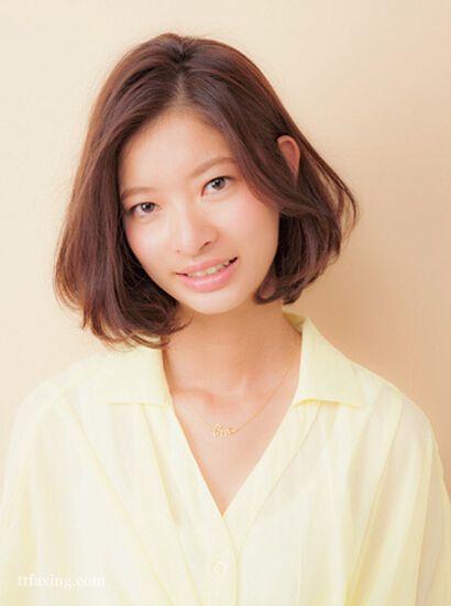最新甜美波波头短发发型图片精选