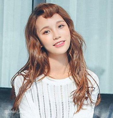 2015年最新韩式甜美长发发型图片