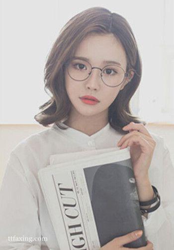 小脸女生适合的发型,五款韩式发型时尚修颜