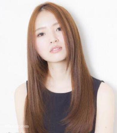 五款清新柔美长直发发型图片精选