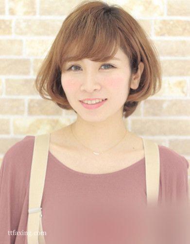 圆脸女生适合的短发,这五款时髦又瘦脸