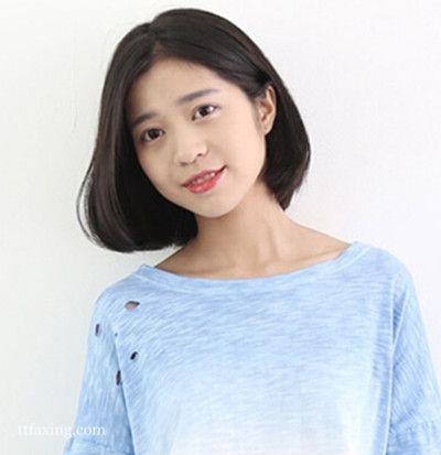 短发怎么烫好看?韩式短烫发清新可爱