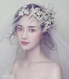 优雅唯美的新娘盘发造型