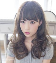 五款人气超高的日系甜美梨花头发型推荐