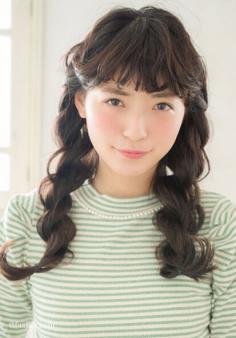 日系双边麻花辫编发发型教学,甜美减龄百分百