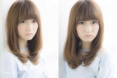 最新五款日系甜美中长发发型令你美翻一秋!