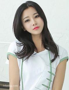 好看的韩式中长发发型推荐,清新甜美显气质
