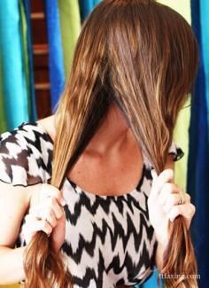 创意彩虹鱼骨辫发型设计 感受阳光活力气息