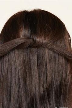 低马尾辫的扎法图解 简单又有气质