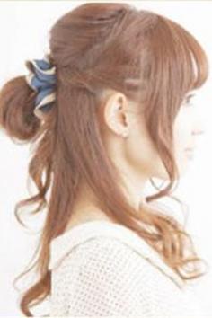 齐刘海发型扎法步骤图解 简单易学又清新甜美