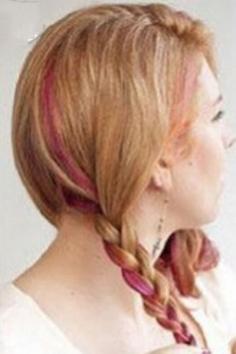 扎花苞头简单好看的步骤 DIY八步打造淑女造型
