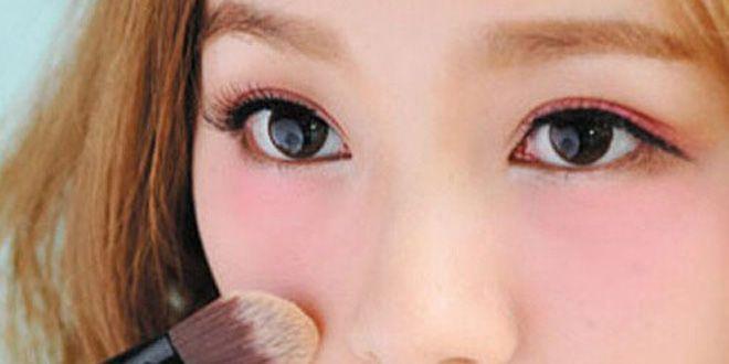 韩式化妆步骤图解 简单7步变身可爱教主