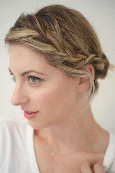 侧图解图片气息编发展现清新优雅的教程如何自己烫赵丽颖发型发型短发图片