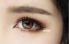 一字眉怎么画图解 打造式韩式小清新妆容