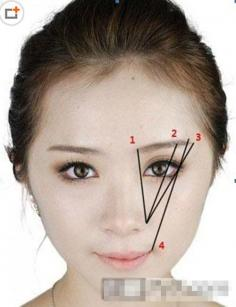 刮眉毛的步骤图片 分分钟学会不是难事儿