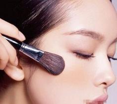 各种脸型的腮红画法 化妆小技巧