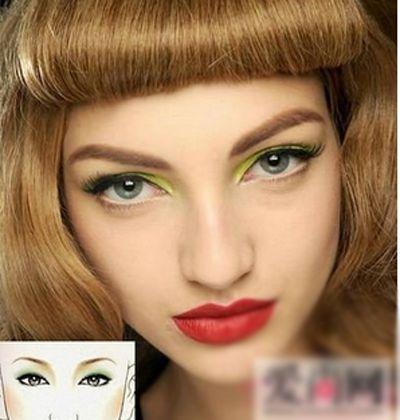 淡妆眼影颜色搭配 不一样的大眼诱惑 第2页_化