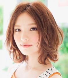 中分梨花头发型图片大全 最能修饰脸型的发型