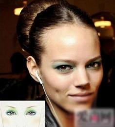 淡妆眼影颜色搭配 不一样的大眼诱惑