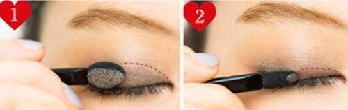 学习大地色系眼妆画法 掌握彩妆基本步骤
