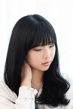 齐刘海发型图片 不只卖萌还能修颜
