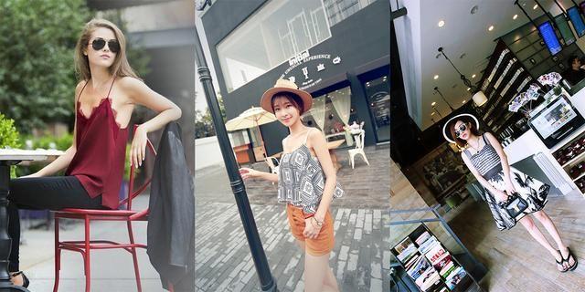 夏季清凉街拍 告诉你最新时尚元素