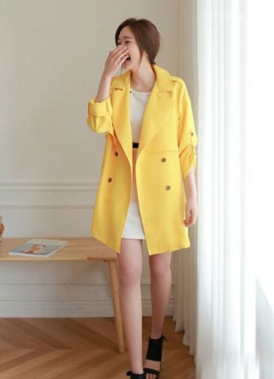 女士风衣外套搭配 富有魅力的造型百变搭法