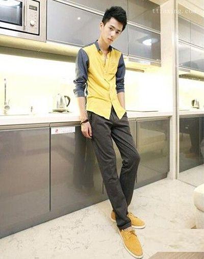 个子矮的男生穿衣搭配技巧图片 推荐扬长避短的搭法
