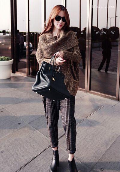 秋季服装搭配技巧 韩范十足让你做个优雅女人