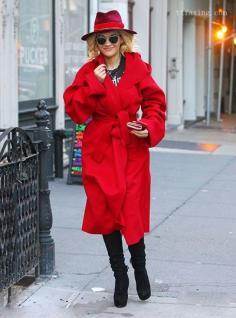 时尚长款外套 让你的冬天不再臃肿