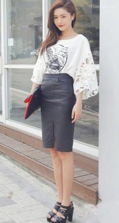 上班族服装搭配技巧图片 打造时尚女郎形象