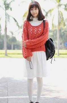 矮个子女生冬天穿衣搭配技巧图片 1米55穿出1米63身材
