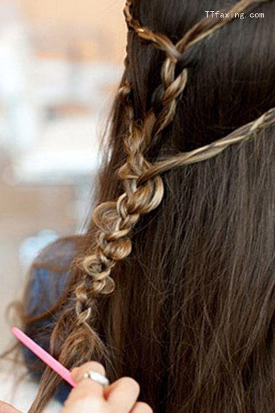 最新发型长发编发教程 打造精致迷人的发型