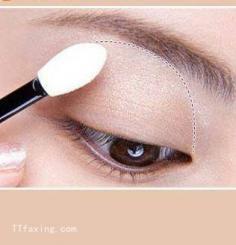 wed114教你怎么画非主流大眼妆 非主流大眼妆教程图解