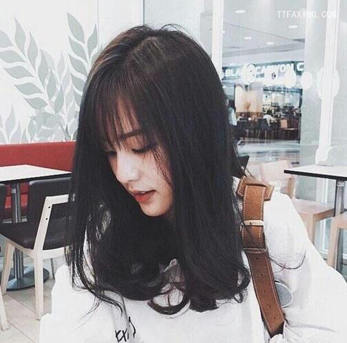 2016中长发烫发颜色,气质发型总有一款发型适吴映洁在韩国头发多种图片
