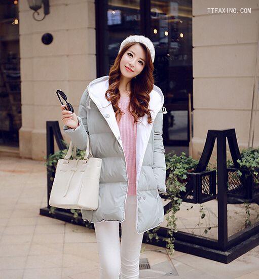 韩国女生冬季长发发型精选