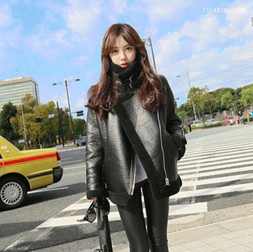 韩国发型冬季女生女生精选胸长发a发型图片