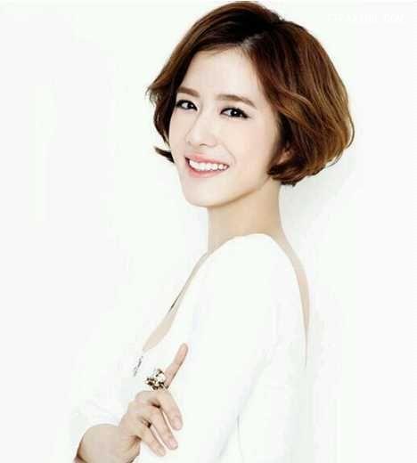 韩式or蓬松的短烫发发型图片很美腻!