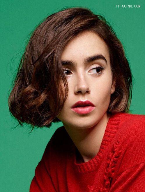 方脸适合什么发型?跟欧美潮人学方脸发型搭配