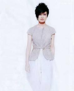 超女李宇春示范2016夏季短发发型图片