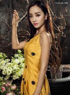 演员杨蓉长发发型盘点,造型百变依然甜美