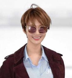 韩国女明星高俊熙短发发型图片欣赏