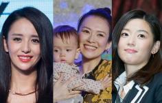 是女神也是时髦孕妈 章子怡全智贤准辣妈发型PK