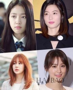 傻白甜直发富家女大卷 揭韩剧女主最爱发型