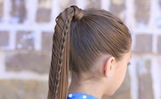巧手训练营高阶创意编发集锦教程_发型设计学生扎头发简单好看短发图片