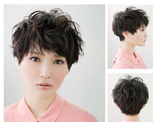 高颧骨菱形脸发型_菱形脸适合什么发型中短发遮住高颧骨